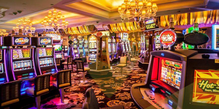 Unterhaltung im Casino